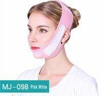 маскирующий снотворный оптовых-Тонкая тонкая маска для лица V Shaper для похудения Повязка для лица Лифтинг шеи Маска для сна Лифтинг лица Уменьшить двойной подбородок для лица