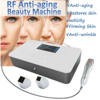 Wholesale removal rejuvenation machine resale online - Portable Fractional RF Machine Thermage Radio Frequency Face Lift Skin Tightening Wrinkle Removal Eye Bags Spots Remove
