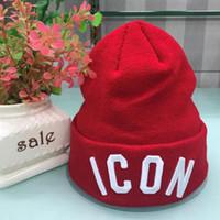 pop-cap großhandel-Großhandel hohe qualität ICON Cap Luxus Täglich Mützen Berühmte Schädelkappe Warme Weiche Winter Hut Pop Ski Cap für Männer Frauen Kind freies verschiffen
