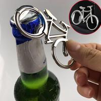 ingrosso bicicletta aperta della bottiglia da birra-2019 Alla Moda Della Bici Della Bicicletta Metallo Beer Bottle Opener portachiavi Portachiavi per Ciclista amante biker Creativo Regalo Di Natale Per Padre D330S F