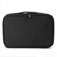 Wholesale make nail art brush for sale - Group buy New Style Makeup Brush Bag Case Make Up Organizer Toiletry Bag Storage Cosmetic Bag Large Nail Art Tool Boxes With Portable