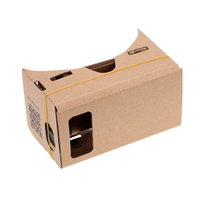 Wholesale diy cardboard 3d vr glasses resale online - DIY Google Cardboard D Glasses Virtual Reality Glasses DIY Google VR Cardboard D Glass For