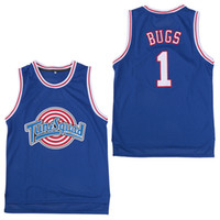 81cb4323c37 Space Jam Jersey Película para hombres Tune Squad 1 Bugs Bunny 2 Daffy Duck  1 3 Tweety 10 Lola Bunny Camisetas de baloncesto TAZ