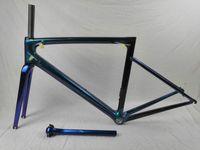carbon rennrad rahmen super großhandel-Superleichter 800g Carbon Fahrradrahmen Carbon Fahrradrahmen Carbon Fahrradrahmen