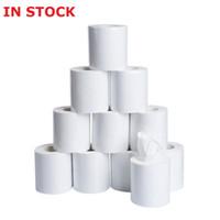 Wholesale biodegradable toilet paper eco friendly toilet paper bath tissue ply paper rolls white epacket