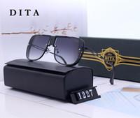 modelos femininos modelagem óculos de sol venda por atacado-2019 Marca Itália DITA 6 Cores de alta qualidade designer de moda masculina óculos de sol da moda modelos femininos estilo retro Óculos de Sol Unisex
