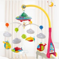 Wholesale baby day beds for sale - Baby Music Rotate Projection Bed Bell Puzzle Cute Multi Function Toy Plastic Anti Wear Eco Friendly Safety New Arrival ml I1