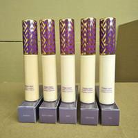 Wholesale oil free foundations for sale - Group buy In stock Top qualtiy Shape Tape contour Concealer colors Fair Light Light medium Medium Light sand ml liquid foundation DHL free shippin