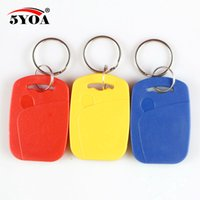 125khz rfid proximity id token tag key keyfobs Keychain-uk vendeur 5 pcs