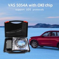 диагностические инструменты vas оптовых-2018 VAS5054A Full Chip VAS 5054A Oki автомобиля диагностический инструмент VAS5054 Odis V4.3.3 5054 Bluetooth OBD2 автоматический диагностический сканер инструмент