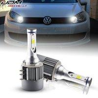Wholesale audi headlamps for sale - Group buy Error Free Canbus H15 LED Lights OBC HID White V For Audi BMW Mercedes OEM halogen headlamps for high beam Daytime Lights