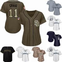 Wholesale women jersey 23 resale online - Womens Youth San Diego Fernando Tatis Jr Manny Machado Wil Myers Eric Hosmer Alex Dickerson Padres Baseball Jerseys