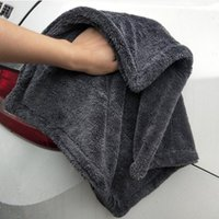 Wholesale twisting car resale online - Double Sides Microfiber Twist Wash Towel Professional Super Soft Cleaning Drying Cloth Towels for Cars Washing Polishing Waxing