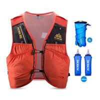 рюкзаки для гидратации мочевого пузыря оптовых-AONIJIE 10L Skin Backpack Hydration Pack Rucksack Bag Vest Harness Water Bladder Hiking Camping Running Marathon Race C942