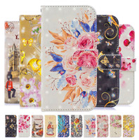 Wholesale black paintings for sale for sale - Group buy 20 Piece Mixed Sale D Colorful Painted PU Leather Phone Case for iPhone Pro X XR XS Max Plus