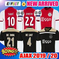 433410c9735 2020 Ajax home red Soccer Jerseys 18 19 20 Ajax Shirts 2018 2019 DE LIGT  TADIC ZIYECH DE JONG SCHONE Champions Kids football Uniform kit