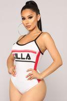 ingrosso gioca con i jumpsuits eleganti-KILLA Letters Donna Playsuits Intimo Estate Tute Donna elegante pagliaccetti