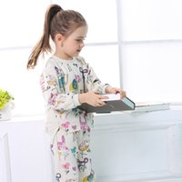 Wholesale clothes for kids winter for sale - Kids designer Clothing Sets Winter Girls Clothes Graffiti Prints Sweatshirts Casual Pants for Children suits