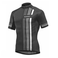Wholesale giant team cycling bicycle jerseys for sale - GIANT team Cycling Short Sleeves jersey summer quick dry men racing bicycle clothing Sportswear N03022011