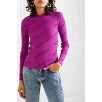 casaco jacquard venda por atacado-19 outono e inverno nova moda listrado cardigan carta jacquard V-neck camisola fêmea de mangas compridas real Plano 776788