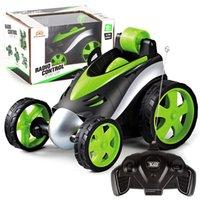 dd01bc919668 stunt cars toys NZ - Wireless RC Stunt Car Remote Control car Electric Race  360 Degree