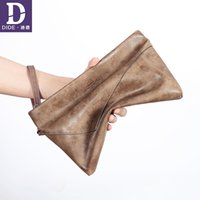 Wholesale travel bag for teenager resale online - DIDE Business Travel Bag Men Casual Fashion Envelope Bags For Teenager Vintage Style Day Clutches Male Handbag High Quality