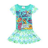 bebekler rahat kıyafetler için elbiseler toptan satış-2019 yeni bebek Prenses Elbiseler çocuklar yaz giysileri kızlar elbiseler pamuk Günlük Elbiseler Çocuklar Elbise çocuklar giysi tasarımcısı kızlar A3462 giymek