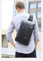 ipad verpackung großhandel-Design Unisex Men Fashion Messenger Bags Erweiterbare Chest Packs Wasserdichte Schultertaschen-Frauen-Beutel für Ipad