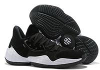 bádminton en línea al por mayor-Zapatillas de baloncesto Harden Vol.4, nuevas zapatillas de deporte de 2019, streetwear, zapatillas de deporte de entrenamiento, zapatillas de deporte hermosas y sencillas en línea.