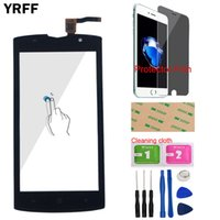 Wholesale z7 resale online - YRFF Mobile Touch Screen Panel For Homtom ZOJI Z7 Phone Touch Screen Digitizer Touchscreen Sensor Tools Protector Film