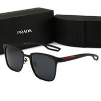 sıcak moda adam güneş gözlüğü toptan satış-Tasarımcı Güneş Gözlüğü Lüks Güneş Gözlüğü Marka P0120 Gözlük Erkekler Kadın Moda Gözlük Kutusu ile Sürüş UV400 Yüksek Kalite ile Yeni Sıcak