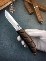 facas de damasco de qualidade superior venda por atacado-Top Quality VG10 Damascus Steel fixo lâmina de faca facas 2.8