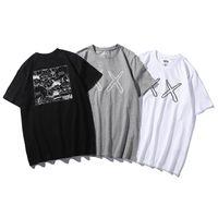 t shirts japan achat en gros de-UNIQLO UT x SESAME STREET x KAWS t-shirts pour hommes Japon Vêtements F S Cool Casual t-shirt t-shirt mode unisexe tshirt Hommes Femmes Unisex Fash