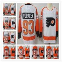 Philadelphia Flyers Jersey  28 Claude Giroux 11 Travis Konecny 17 Wayne  Simmonds 53 Shayne Gostisbehere 93 Jakub Voracek Hockey Jersey efd9b6c58