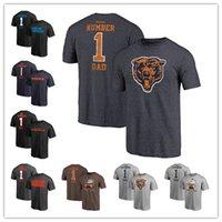 números de camiseta al por mayor-2019 Día de los Padres Carolina Pro Line Panthers El Chicago Number 1 DAD Osos más grande camiseta Cincinnati Retro Gris Bengals Cleveland Envío gratis