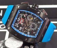 mais barato relógios mecânicos venda por atacado-Preços baixos por atacado Melhor Marca Mens Luxo Mecânico Automático Relógio De Borracha Fivelas Resistente Ao Choque Esqueleto Homens Transparentes relógios de Pulso