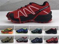 обувь для камуфляжа оптовых-NIKE AIR MAX shoes Оптовая Speedcross 3 детей кроссовки Speed Cross 3 CS беговые детские кроссовки нескользящие подошвы камуфляж кроссовки на день рождения