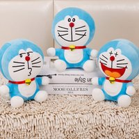 Wholesale doraemon soft toy for sale - Group buy Cut Dingdong Cat Doraemon Plush Toys Expressiones Party Supplies Chilren Birthday Party Gifts Soft Plush Fabrics Girls Pillow Gifts