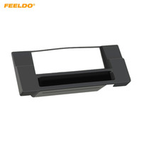 Wholesale dvd for car installation for sale - FEELDO Din Car Radio Panel Fascia Frame For BMW E39 X5 E53 Stereo Frame Plate Dashboard DVD Palyer Bezel Installation Trim Kit