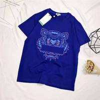 ingrosso la testa della maglietta delle donne stampata-2019 Estate T-shirt da uomo Top T-shirt da uomo con stampa t-shirt Maglietta da uomo Maglietta manica corta da donna Tops S-XL