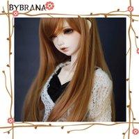 BJD SD Doll blonds marron haute température Fil Cheveux Perruques 1//3 1//4 1//6 BJD...