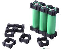 ingrosso ioni di supporto-150 pz E-bike batteria assemblare li-ion 18650 batteria titolare custodia staffa di protezione batteria pin nuovo ABS