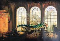 Wholesale laser one for sale - Group buy Vladimir Kush Laser Tune up Home Decor Handpainted HD Print Oil Painting On Canvas Wall Art Canvas Pictures