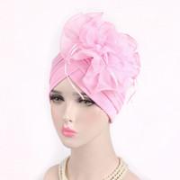 senhora indiana cabelo comprido venda por atacado-Moda, Confortável, Retro-Indiano Hat Individual Fashion Party para senhoras com grandes Buds, lenços na cabeça e cabelos longos