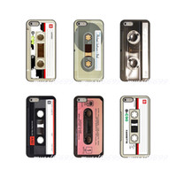 iphone tonband großhandel-Retro Seite alten Stil 3310 Kassette Hard Phone Case Cover für Apple iPhone X XR XS MAX 4 4S 5 5S 5C SE 6 6S 7 8 Plus iPod Touch 4 5 6