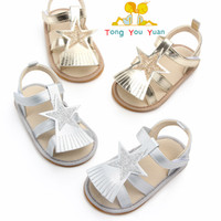 Wholesale tassel baby walking shoes for sale - Group buy 2019 new summer tassel sandals baby shoes year old baby walking shoes indoor