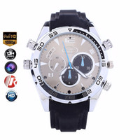 Wholesale audio video recorder watch for sale - Group buy digital Full HD P Infrared Night Vision GB Watch Camera W5000 Sports watch DVR mini camera Audio Video recorder with retail box