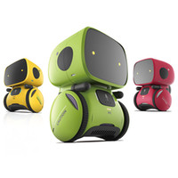Wholesale interactive smart toy resale online - 2019 Interactive Toy Smart Robot Sensitive Intelligent Toy for Kids with Dialog Recording and Touch Control Function