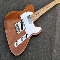 Wholesale telecaster rosewood guitar resale online - Firehawk Wood ELECTRIC GUITAR REAL PHOTOS SHOWING guitarra telecaster guitarra eletrica guitars china