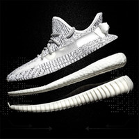 Wholesale soccer shoes red for sale - 350 v2 Sesame Frozen Cream White Zebra Bred Black Red Beluga Kanye West Running Shoes Sport Athletic Sneakers Shoe for Mens